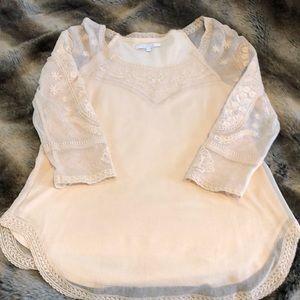 Beautiful cream lace top